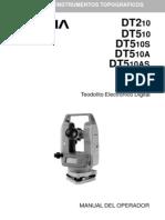46095719 Manual de Instrucciones de Teodolitos Sokkia