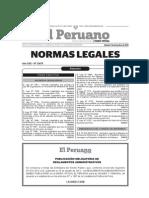 Leyes de Salud Decreto Legislativo 7 Diciembre 2013. 1153, 1165, 1166, 1167, 1173, 1174 y 1175.
