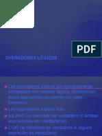 Operadores lógicos