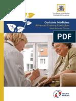 At GeriatricMedicine Curriculum1
