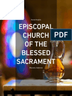 Blessed Sacrament Church Parish Portfolio