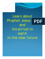 LEARN MORE ABOUT PROPHET JESUS AND HIS ARRIVAL TO EARTH