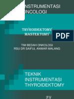 INSTEK MASTEKTOMY & TYROIDECTOMY