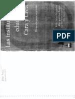 La Investigacion Edicativa-Cara y Cruz