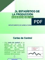 CONTROL ESTADÍSTICO DE LA PRODUCCIÓN