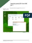 Upgrade SAP Portal