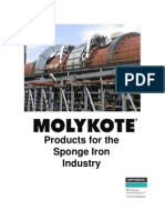Molykote for Sponge Iron Industry