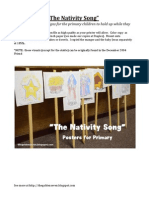 """The Nativity Song""  Signs"