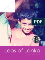 Leos of Lanka - Newsletter of Leo Multiple District 306 Sri Lanka - First Issue
