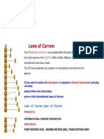 ICF Laws of Carrom