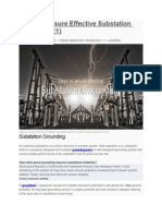 Steps to Ensure Effective Substation Grounding (1)