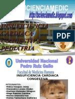 Insuficiencia Cardiaca Congestiva en Pediatria FMH-UNPRG TUCIENCIAMEDIC