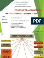 Sistema de Costos Por Actividades Exponer