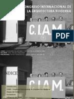 CIAM Congreso Internacional de Arquitectura Moderna1