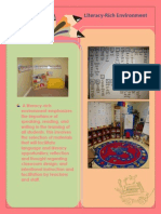Literacy Rich Environment