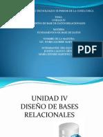 unidad 4 DISEÑO DE BASE DE DATOS RELACIONAL - ESTHER