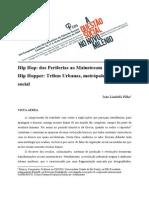 Hip Hop Das Periferias Ao Mainstream - Joao Lindolfo Filho