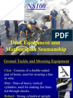 Lesson 2 Deck Equipment and Marlinspike Seamanship2839