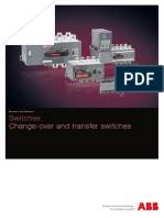 1SCC303003C0201 Change-Over and Transfer Switches