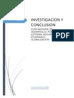 Analisis de La Realidad Nacion- Investigacion y Conclusion Tema 6