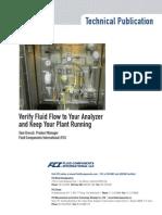 FS10A Analyzer Flow Assurance 8-30-12