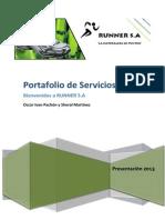 Portafolio de Servicios RUNNER
