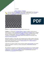 Graphene-A 2 Dimensional Material