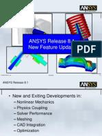 SVS FEM+Kolektiv-ANSYS 8 1 New Features University Update