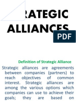 Strategic Alliances for IB