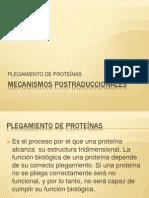Mecanismos Postraduccionales Unidad 4