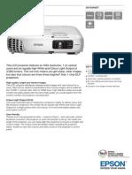 Epson EB-X18 3LCD Bright XGA Projector