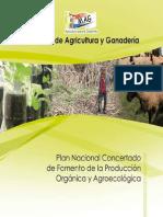 Plan Nacional Concertado de Fomento de de La Produccion Organica y Agroecologica