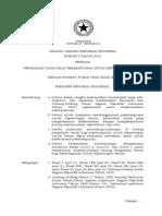 Uu 2 2012 Pengadaan Tanah Bagi Pembangunan Untuk Kepentingan Umum