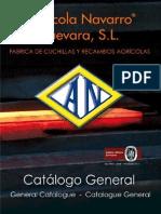 Agricola Navarro CUCHILLAScatalogo2012