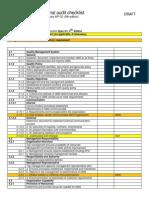 Preliminary q1 9 Audit Checklist