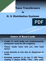High Voltage Distribution System