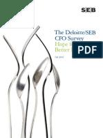 Deloitte/SEB CFO Survey
