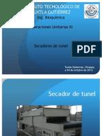 Secador de Tunel