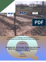 EDXRF-Methods of Prepare Soil