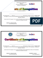Certificate of Recognition_Cluster Meet