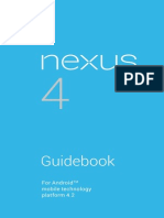 Nexus 4 Guidebook 121212