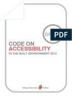 Draft Accessibility Code 2013