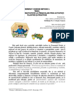 dezvoltarea creativitatii la prescolari prin activitati plastice si practice