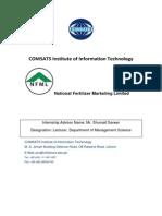 Internship Report on NFML