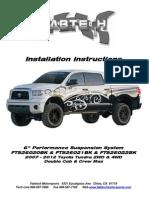 Fabtech Install FT26020i