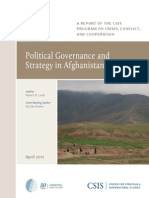 Goveranance Afghan