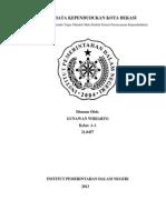 data penduduk kota bekasi.docx