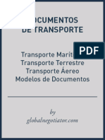 DOCUMENTOS TRANSPORTE INTERNACIONAL