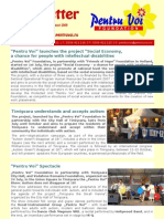 Pentru Voi Newsletter August 2009 RO