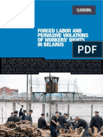 Forced Labor Belarus Report FIDH&Viasna